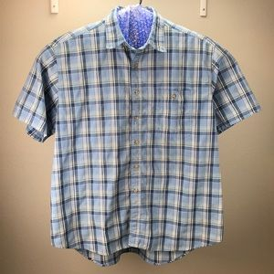 Wrangler Rugged Wear Short Sleeve Shirt Sz XL